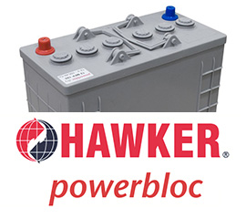 Topnotch Baterie trakcyjne Hawker, Ener Sys, akumulatory do wózków GU78